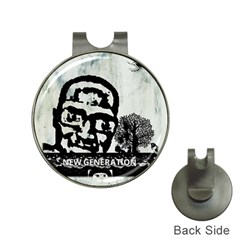 M G Firetested Hat Clip With Golf Ball Marker