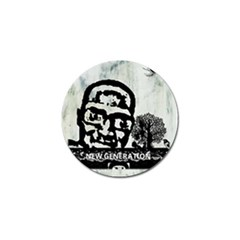 M G Firetested Golf Ball Marker 4 Pack