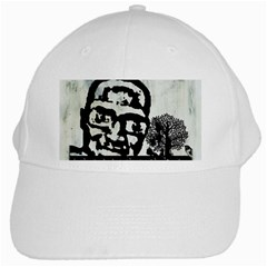 m.g firetested White Baseball Cap