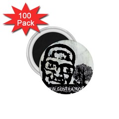 M G Firetested 1 75  Button Magnet (100 Pack)