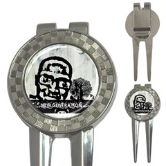 M G Firetested Golf Pitchfork & Ball Marker