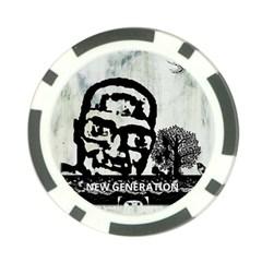 M G Firetested Poker Chip (10 Pack)