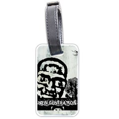 m.g firetested Luggage Tag (One Side)