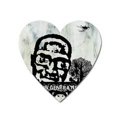 M G Firetested Magnet (heart)