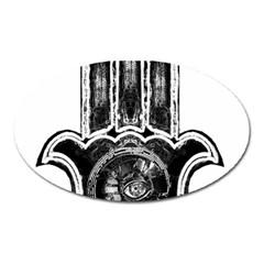 Hamsamusiceyebubblesz Magnet (Oval)