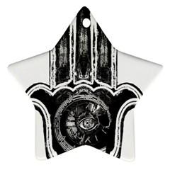 Hamsamusiceyebubblesz Star Ornament (Two Sides)