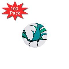 Fantasy Bird 1  Mini Button (100 pack)