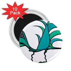Fantasy Bird 2 25  Button Magnet (10 Pack)