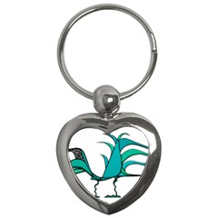 Fantasy Bird Key Chain (heart)