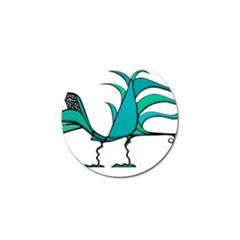 Fantasy Bird Golf Ball Marker 4 Pack