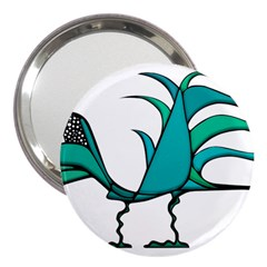 Fantasy Bird 3  Handbag Mirror