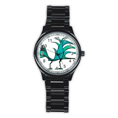 Fantasy Bird Sport Metal Watch (Black)