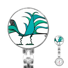 Fantasy Bird Stainless Steel Nurses Watch