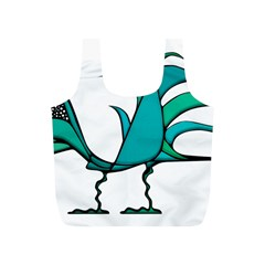 Fantasy Bird Reusable Bag (S)