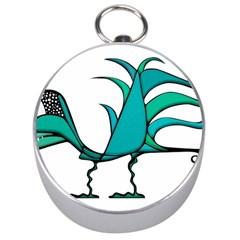 Fantasy Bird Silver Compass