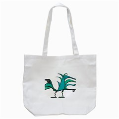 Fantasy Bird Tote Bag (white)