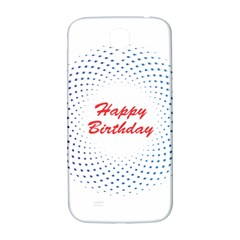 Halftone Circle With Squares Samsung Galaxy S4 I9500/i9505  Hardshell Back Case