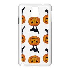 Vintage Halloween Cat Samsung Galaxy Note 3 N9005 Case (White)
