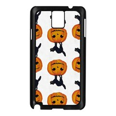 Vintage Halloween Cat Samsung Galaxy Note 3 N9005 Case (Black)