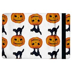 Vintage Halloween Cat Apple iPad Air Flip Case
