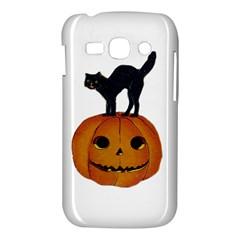 Vintage Halloween Cat Samsung Galaxy Ace 3 S7272 Hardshell Case