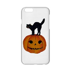 Vintage Halloween Cat Apple iPhone 6 Hardshell Case