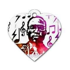 Iamholyhiphopforever 11 Yea Mgclothingstore2 Jpg Dog Tag Heart (One Sided)