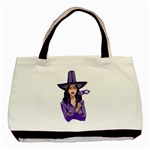 Purple Witch Classic Tote Bag Front