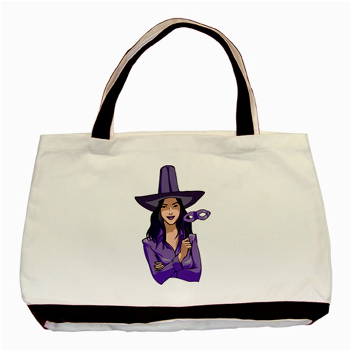Purple Witch Classic Tote Bag
