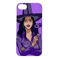 Purple Witch Apple Iphone 5s Hardshell Case