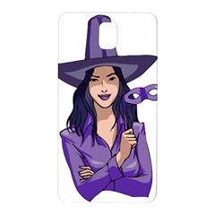 Purple Witch Samsung Galaxy Note 3 N9005 Hardshell Back Case