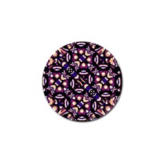 Colorful Tribal Pattern Print Golf Ball Marker 4 Pack