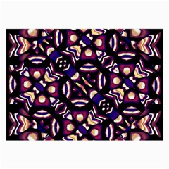 Colorful Tribal Pattern Print Glasses Cloth (Large, Two Sided)
