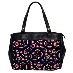 Colorful Tribal Pattern Print Oversize Office Handbag (one Side)