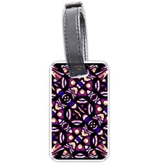 Colorful Tribal Pattern Print Luggage Tag (One Side)