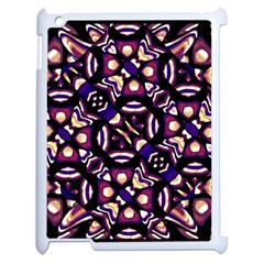 Colorful Tribal Pattern Print Apple Ipad 2 Case (white)
