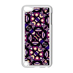 Colorful Tribal Pattern Print Apple iPod Touch 5 Case (White)