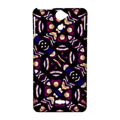 Colorful Tribal Pattern Print Sony Xperia V Hardshell Case