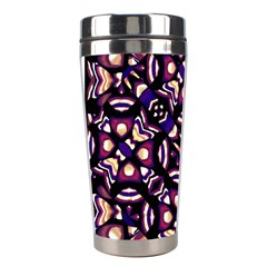 Colorful Tribal Pattern Print Stainless Steel Travel Tumbler