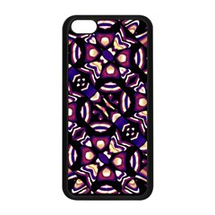 Colorful Tribal Pattern Print Apple iPhone 5C Seamless Case (Black)