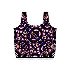 Colorful Tribal Pattern Print Reusable Bag (S)