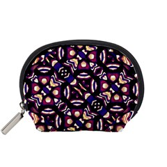 Colorful Tribal Pattern Print Accessory Pouch (Small)