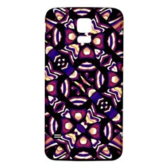 Colorful Tribal Pattern Print Samsung Galaxy S5 Back Case (white)
