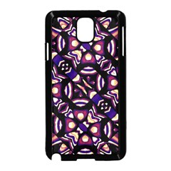 Colorful Tribal Pattern Print Samsung Galaxy Note 3 Neo Hardshell Case (Black)