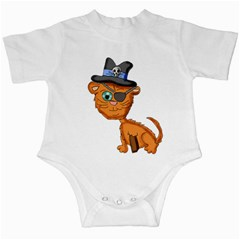 Pirate Cat  Infant Bodysuit
