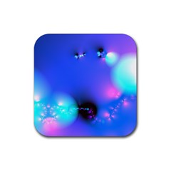 Love In Action, Pink, Purple, Blue Heartbeat 10000x7500 Drink Coaster (square)