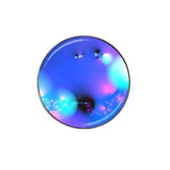 Love In Action, Pink, Purple, Blue Heartbeat 10000x7500 Golf Ball Marker 10 Pack (for Hat Clip)