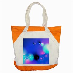 Love In Action, Pink, Purple, Blue Heartbeat 10000x7500 Accent Tote Bag