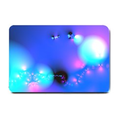 Love In Action, Pink, Purple, Blue Heartbeat 10000x7500 Small Door Mat