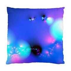 Love In Action, Pink, Purple, Blue Heartbeat 10000x7500 Cushion Case (two Sided)